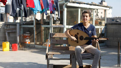 On 31 December, 23 Palestine refugee students and six musicians will release a message of hope and unity for the world. (c) 2020 UNRWA Photo.