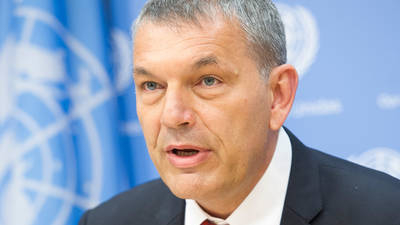 UNRWA COMMISSIONER-GENERAL PHILIPPE LAZZARINI