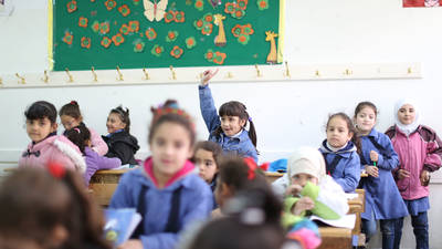 Regional Study: Palestinian Refugee Students Attending UN Schools Achieve Above-Average Results on International Assessments