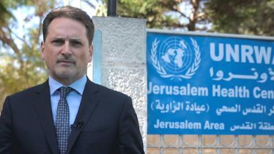 UNRWA Commissioner-General Pierre Krähenbühl. © 2017 UNRWA Photo by Marwan Baghdadi