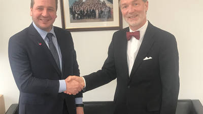 UNRWA and Iceland Sign First Ever Multi-Year Agreement in the Total Value of US$ 1 Million. © 2018 UNRWA Photo, James Dykstra