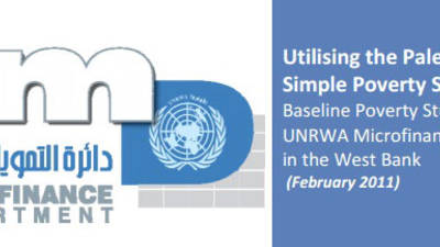 Baseline Poverty Study of UNRWA Microfinance Clients in the West Bank