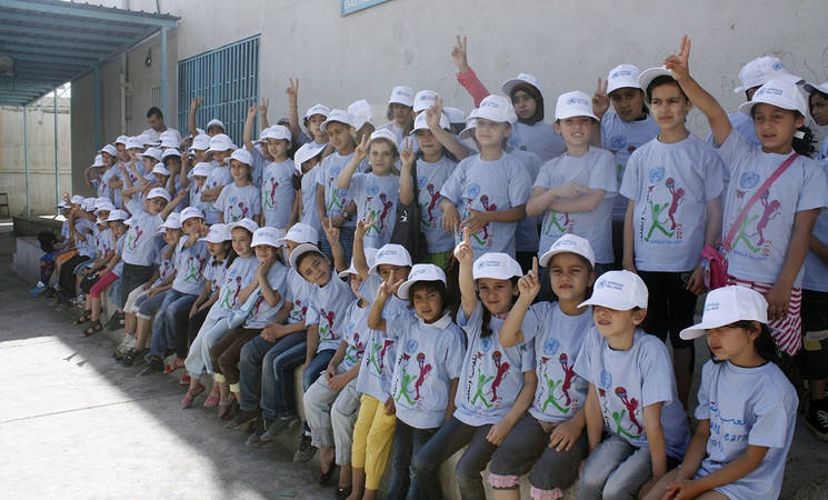 UNRWA and the EU collaborate on education in emergency