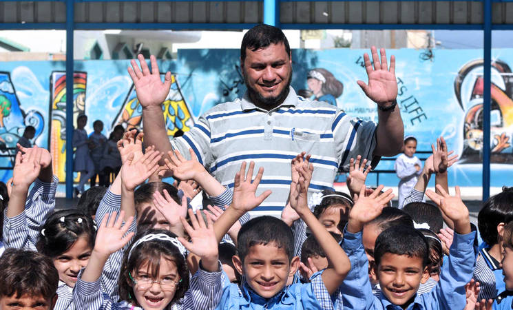 Shareef Sarhan/UNRWA Archives