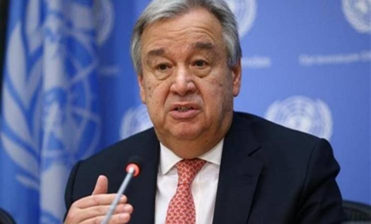 THE SECRETARY-GENERAL ANTÓNIO GUTERRES