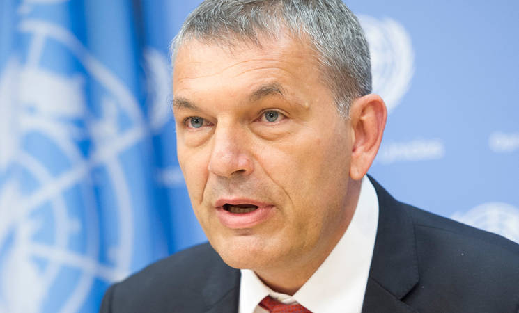 Statement of UNRWA Commissioner-General to the Virtual Advisory Commission