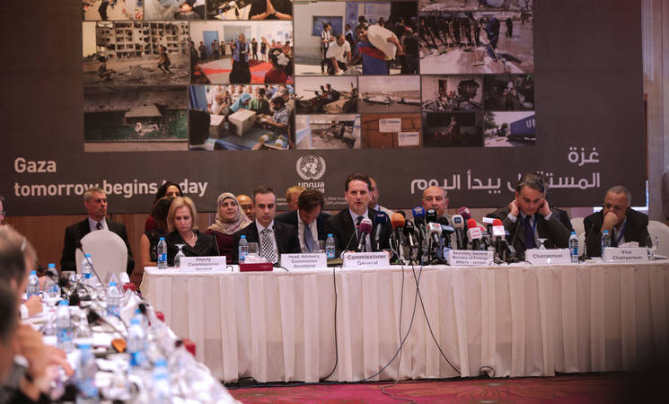 UNRWA Advisory Commission, 17 November 2014
