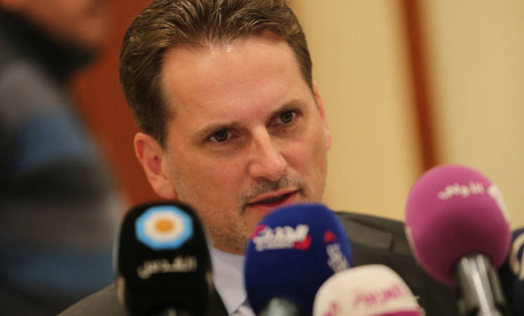 UNRWA Commissioner General Calls for Resolute Political Action