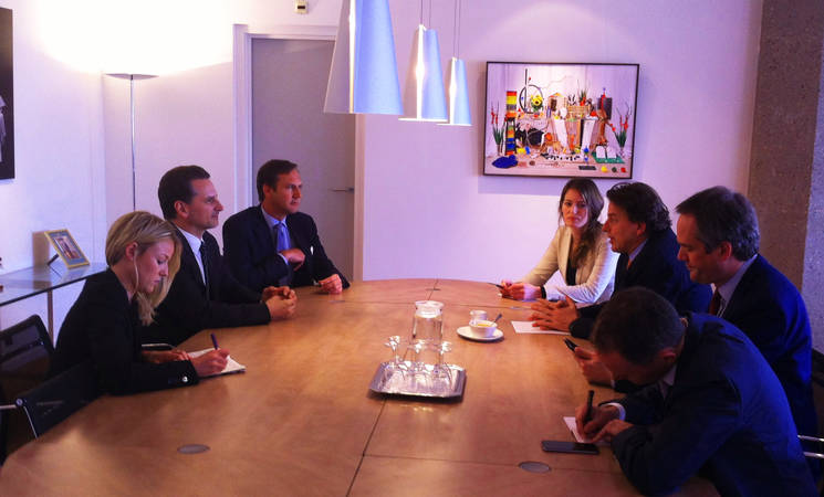 First official visit of UNRWA Commissioner-General to The Hague