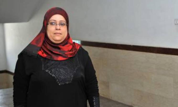 سهير رياض بطة هي واحدة من بين 21 حارسة سيعملن في المراكز الصحية التابعة للأونروا في غزة. الحقوق محفوظة للأونروا 2015/ تصوير خليل عدوان.