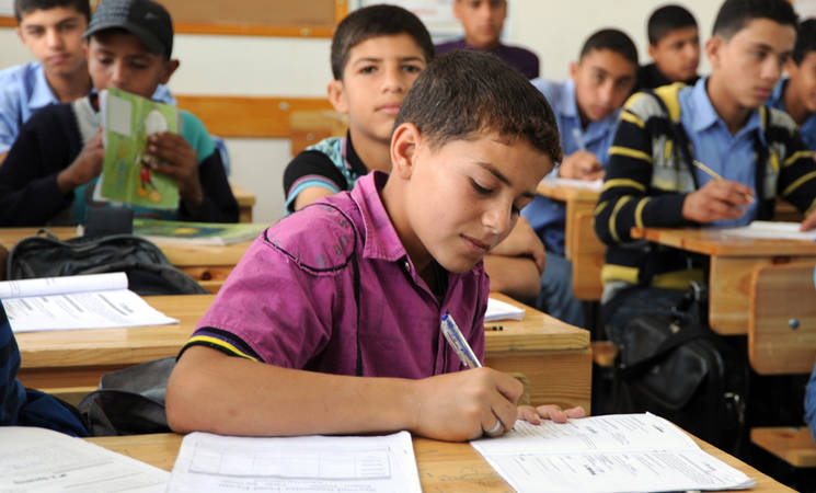 Al-Khair Foundation signs MoU with UN Agency for Palestine refugees. © 2012 UNRWA Photo by Shareef Sarhan.