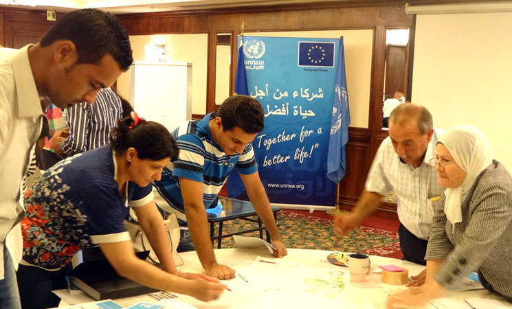 UNRWA and Partners Work to Support Students' Psychosocial Well-being