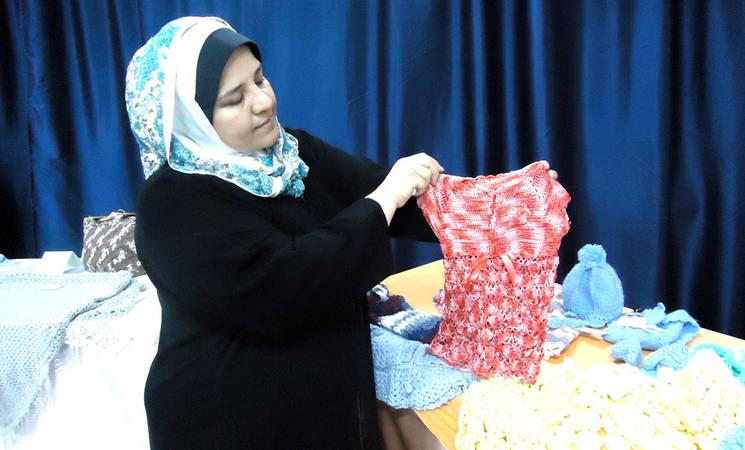 دعم روح الإرادة للنساء المهجّرات