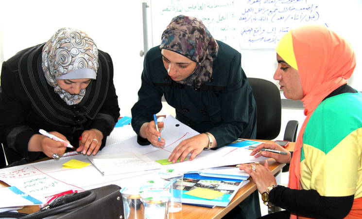UNRWA Teachers 'Learn for the Future'