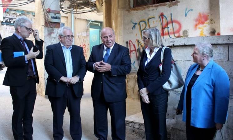 Irish Minister of State Visits UNRWA in Lebanon