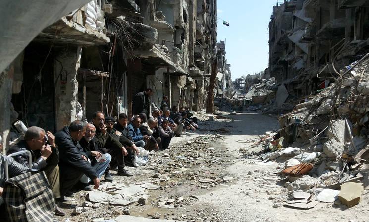 Yarmouk camp. © 2015 UNRWA Photo by Walla Masoud