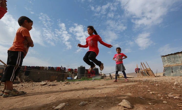 """""""Part of the EUR 2.45 million contribution from Belgium will go towards supporting the Agency's mobile mental health programme, which targets vulnerable Bedouin communities in the West Bank. © 2013 UNRWA Photo by Alaa Ghosheh"""""""