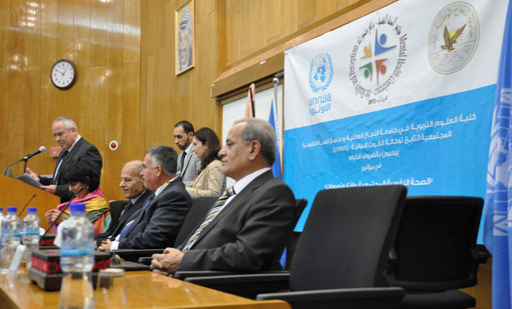 UNRWA Supports Community Mental Health