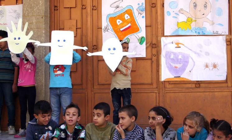 UNRWA Responds to Polio Outbreak