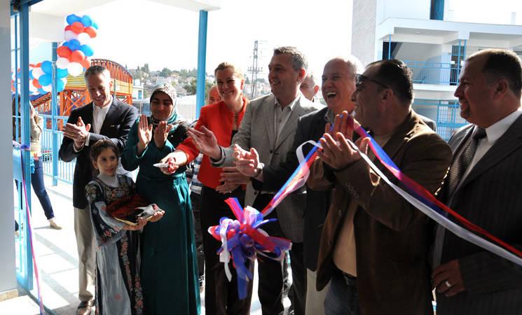 UNRWA and US Inaugurate Jalazone School