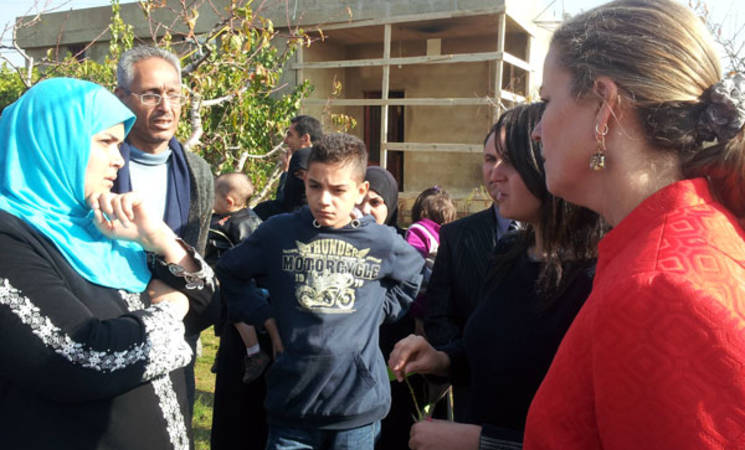 UNRWA and US Meet PRS in Beqaa