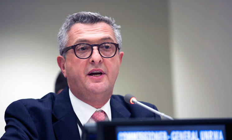 Statement by the CG of UNRWA, Filippo Grandi
