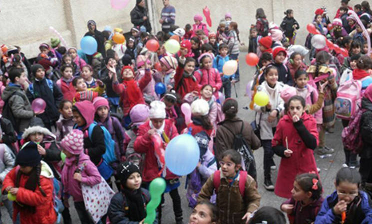 الأونروا تحتفل باليوم العالمي لحقوق الإنسان