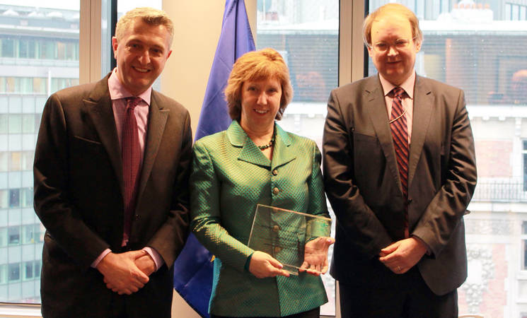 Commissioner-General visits Brussels