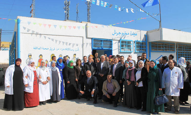 UNRWA Implements Family Health in Jerash