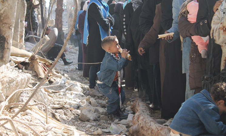 Support from Islamic Relief Worldwide for Besieged Yarmouk