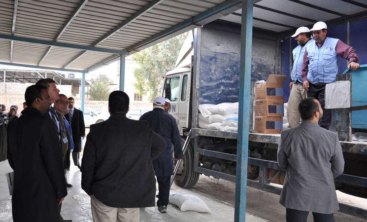 Indian Representative Visits Palestine Refugee Camps