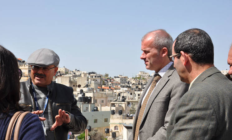 Belgian Consul General Visits the West Bank