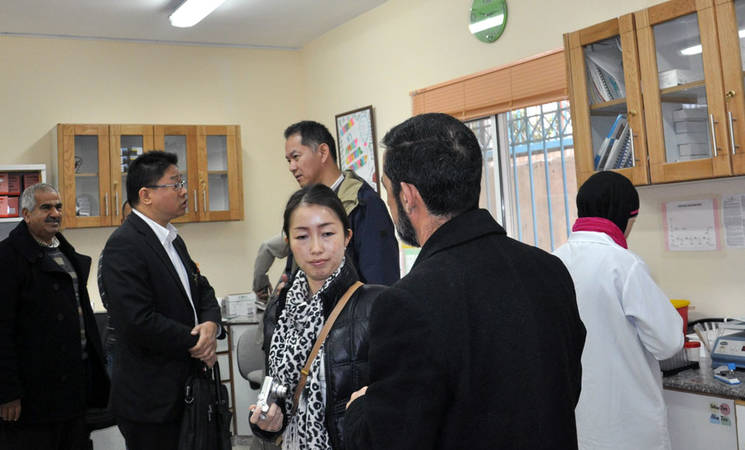 West Bank Welcomes Japanese Delegation