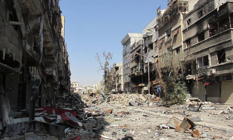 Survey of Businesses in Syria: Overwhelming Destruction and Displacement