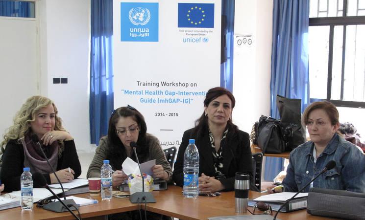 UNRWA Launches Mental-Health Workshops