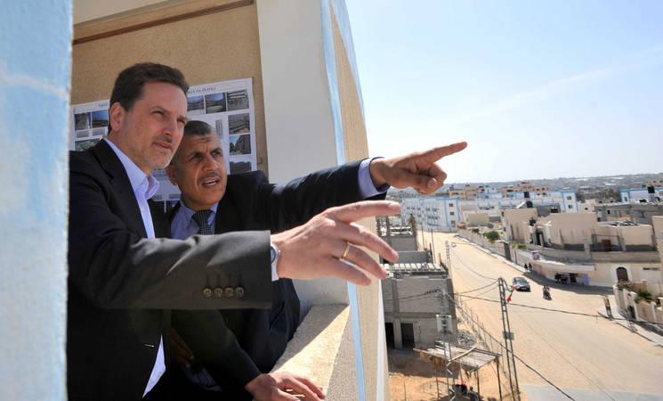 Commissioner-General Pierre Krähenbühl Calls for End to Blockade of Gaza