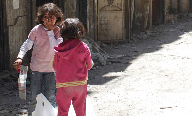 UNRWA Strongly Condemns Killing of Refugee Children in Syria