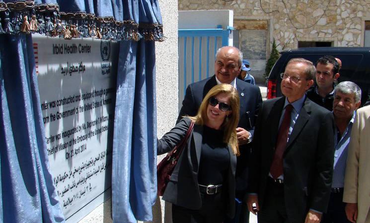 UNRWA Opens New Health Centre in Irbid