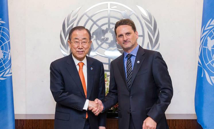 New Commissioner-General of UNRWA Sworn In