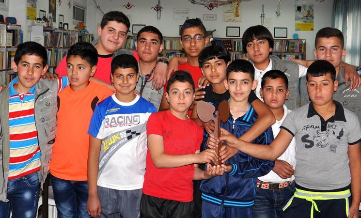 Beacons of Change in Askar Camp