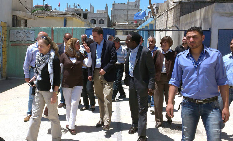 """Reaching and Assisting Palestine Refugees is a Vital Imperative"": UNRWA Commissioner-General on First Visit to Syria"