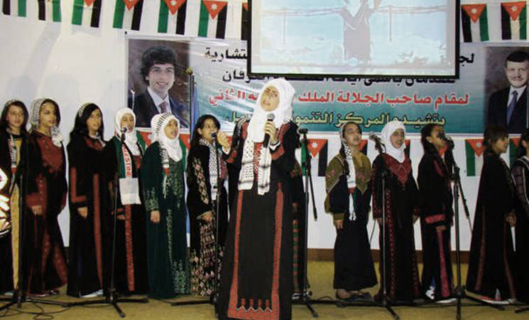 UNRWA Holds Fourth School Parliament and Human Rights Activities in Irbid Camp