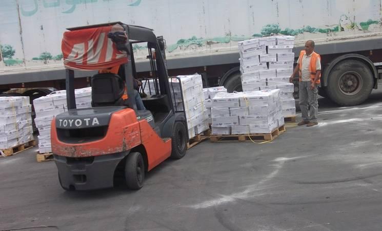Food Aid for Gaza from Jordanian Organizations