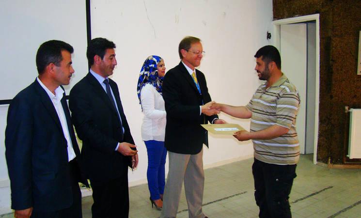 UNRWA Honours Staff Members