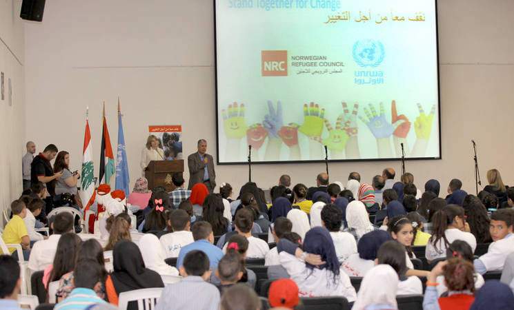 UNRWA and NRC Launch Student Parliament Forum