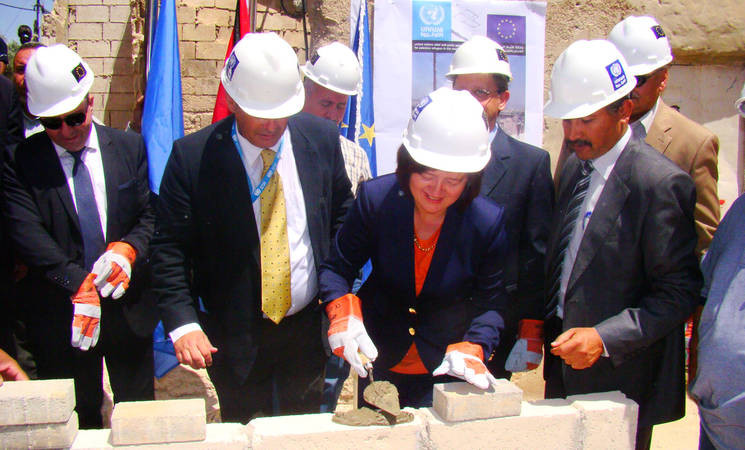 EU, UNRWA Launch Shelter Rehabilitation Project in Jerash Camp