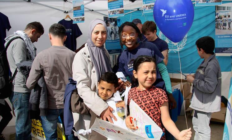 UNRWA-EU Partnership at Yalla Palestina Event