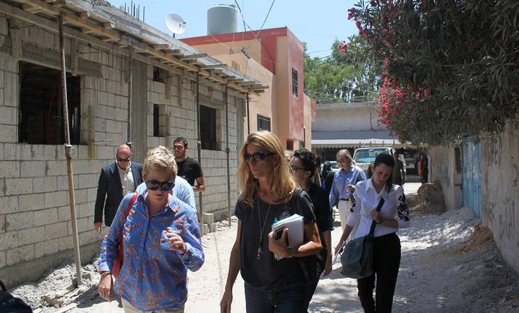 UNRWA Advisory Commission Field Visit to Lebanon