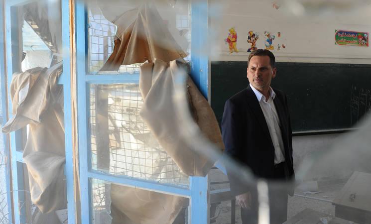 ملاحظات المفوض العام للأونروا بيير كرينبول في المؤتمر الصحفي الذي عقد في غزة