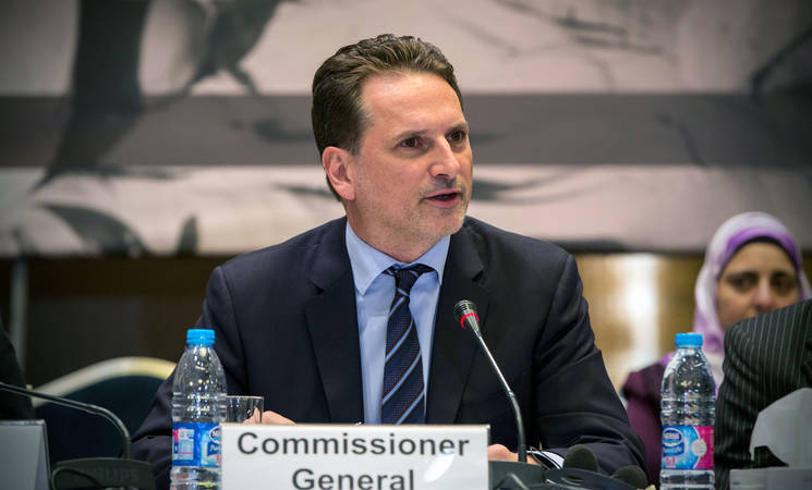 UNRWA Commissioner-General Pierre Krähenbühl. © 2016 UNRWA Photo by Michelle Hamers